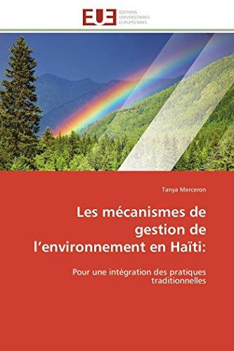 9786131592379: Les mécanismes de gestion de l environnement en haïti: