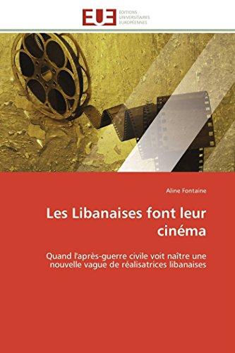 Les Libanaises Font Leur Cinema (Paperback): Fontaine-A