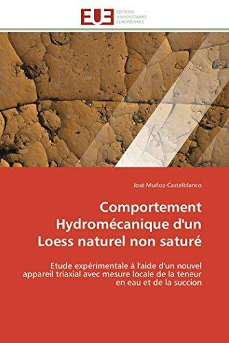 Comportement Hydromécanique d'un Loess naturel non saturé: Etude expé...