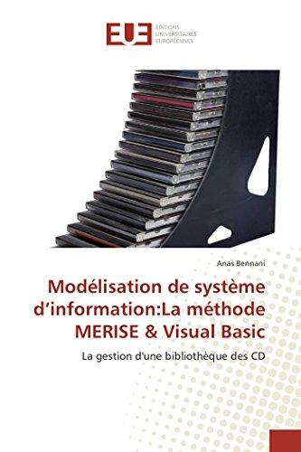 9786131593185: Modelisation de Systeme D'Information: La Methode Merise & Visual Basic