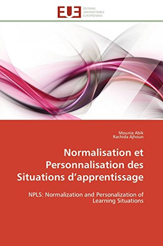 Normalisation Et Personnalisation Des Situations D Apprentissage (Paperback): Collectif