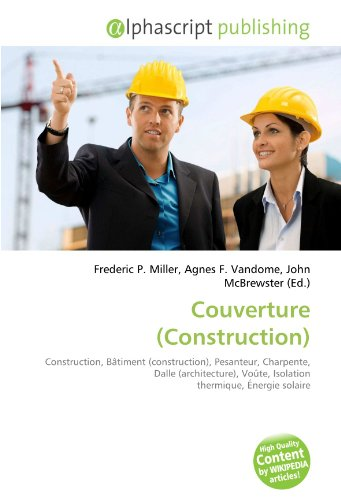9786131619243: Couverture (Construction) (French Edition)