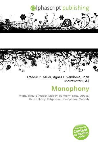 9786131643668: Monophony
