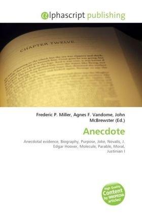 9786131661822: Anecdote