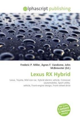 9786131666964: Lexus RX Hybrid