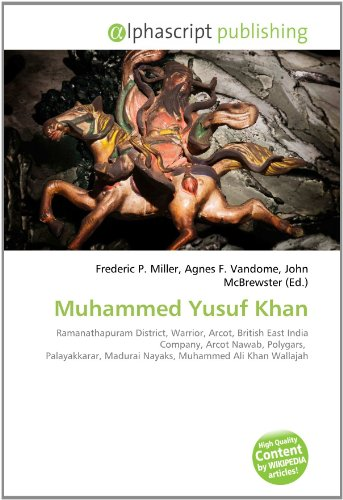 9786131685408: Muhammed Yusuf Khan: Ramanathapuram District