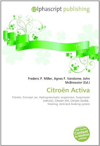 9786131685606: Citroen Activa