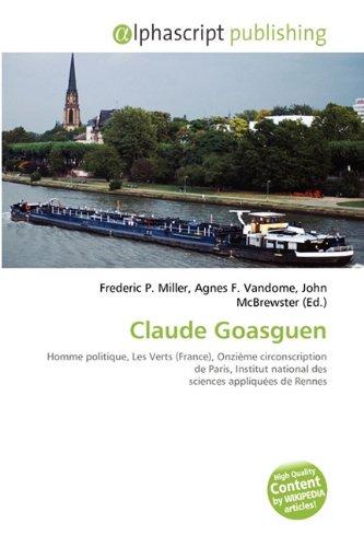 9786131707285: Claude Goasguen