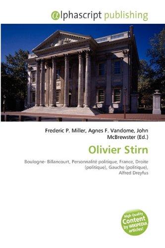 9786131726705: Olivier Stirn
