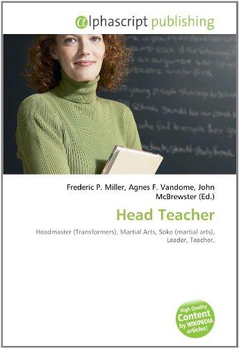 9786131732010: Head Teacher
