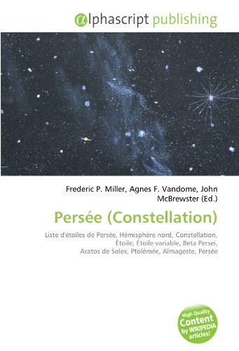 9786131756436: Persée (Constellation) (French Edition)