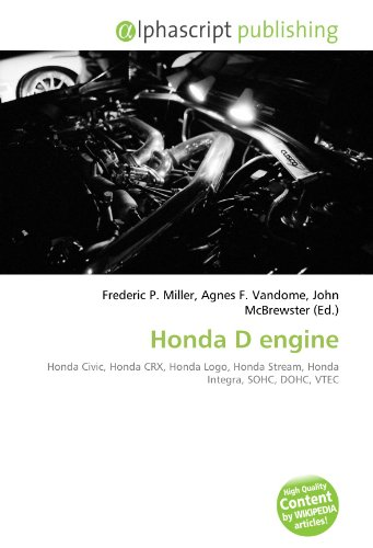 9786131806223: Honda D Engine