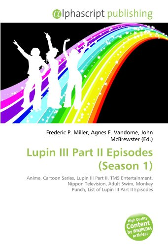 9786131815706: Lupin III Part II Episodes (Season 1)