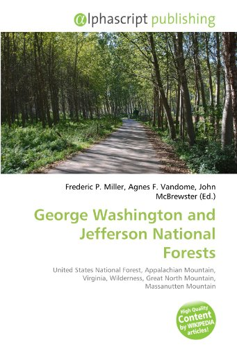 9786131842115: George Washington and Jefferson National Forests