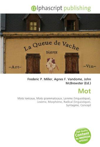 9786131847189: Mot (French Edition)