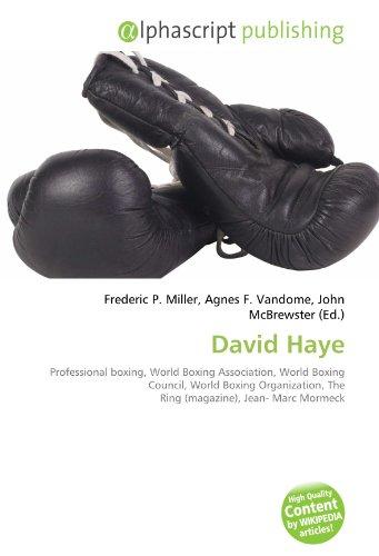 9786131855474: David Haye