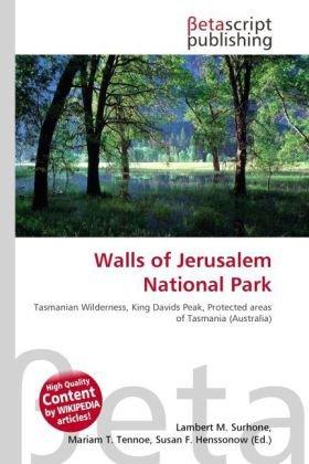 9786131918919: Walls of Jerusalem National Park