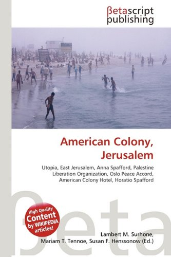 9786131945144: American Colony, Jerusalem