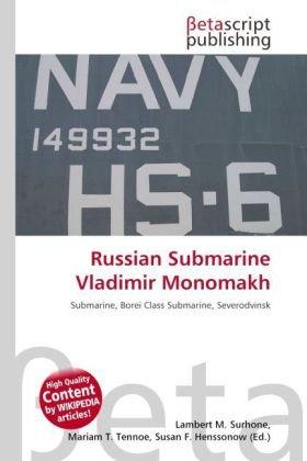 9786131959592: Russian Submarine Vladimir Monomakh