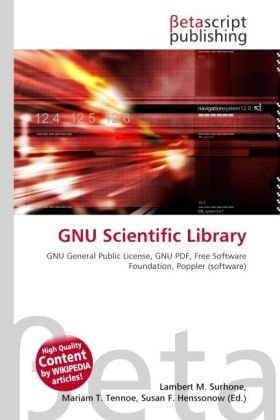 9786131966644: Gnu Scientific Library