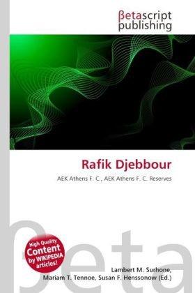 9786131969904: Rafik Djebbour