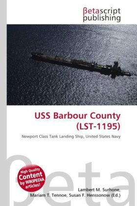 9786131985881: USS Barbour County (Lst-1195)