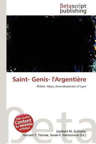 9786132001252: Saint- Genis- L'Argentiere