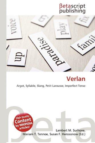 9786132041227: Verlan