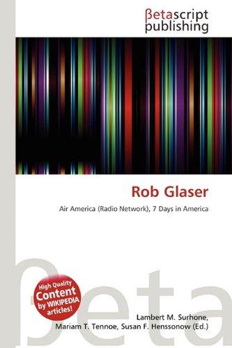 9786132102317: Rob Glaser