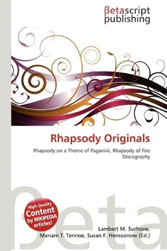 9786132125194: Rhapsody Originals