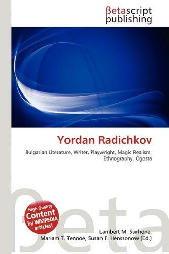 9786132166975: Yordan Radichkov