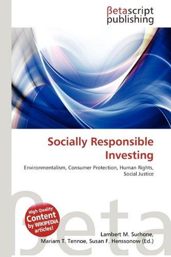 9786132182319: Socially Responsible Investing