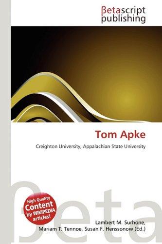 TOM APKE: LAMBERT M. TIMPLEDON,