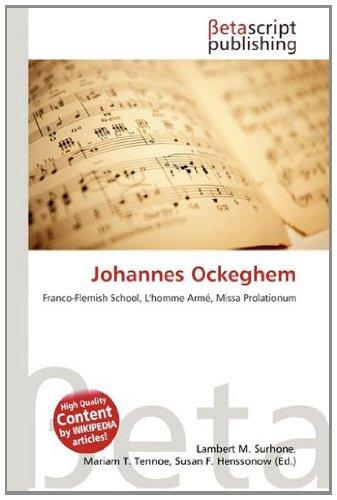 9786132404855: Johannes Ockeghem
