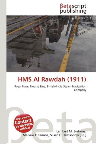 9786132427403: HMS Al Rawdah (1911)