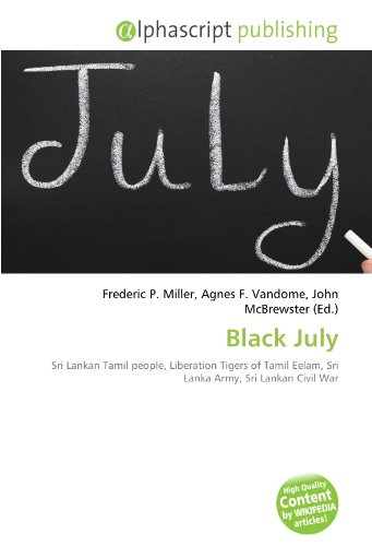 9786132511416: Black July (French Edition)
