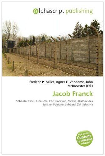 9786132529794: Jacob Franck (French Edition)