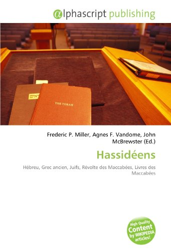 9786132529848: Hassidéens (French Edition)