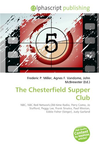 9786132611536: The Chesterfield Supper Club