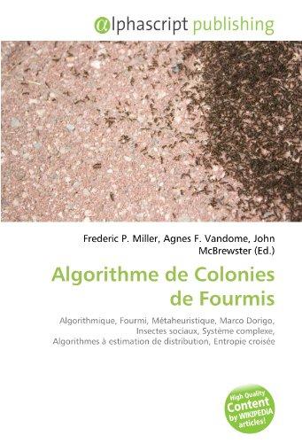 9786132645500: Algorithme de Colonies de Fourmis