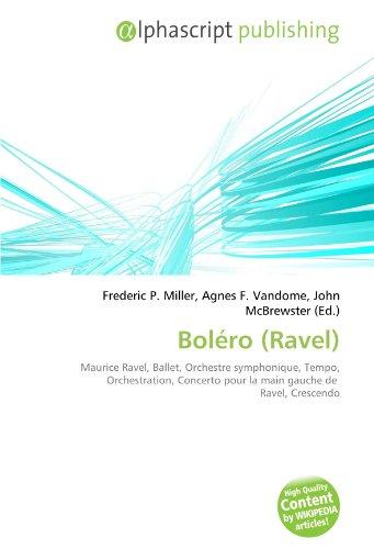 9786132693068: Boléro (Ravel) (French Edition)
