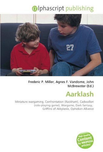 9786132752765: Aarklash: Miniature wargaming, Confrontation (Rackham), Cadwallon (role-playing game), Wargame, Dark fantasy, Griffins of Akkylanie, Ophidian Alliance