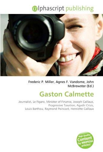 9786132768827: Gaston Calmette