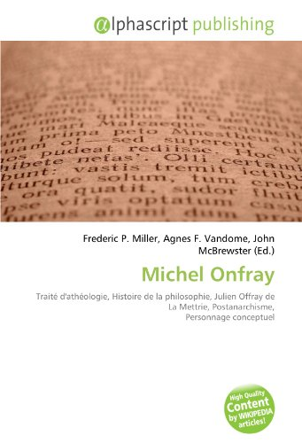 9786132800855: Michel Onfray
