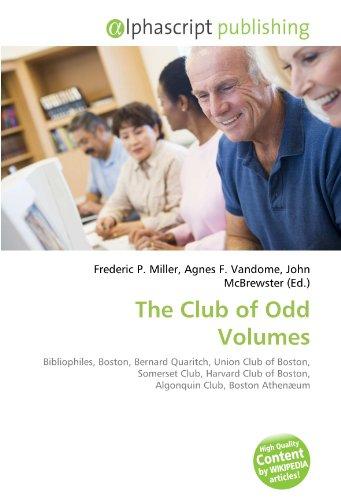 9786132803160: The Club of Odd Volumes