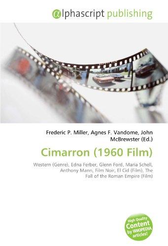 9786132856364: Cimarron (1960 Film)