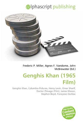 9786132860989: Genghis Khan (1965 Film)