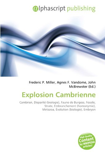 9786132861443: Explosion Cambrienne (French Edition)