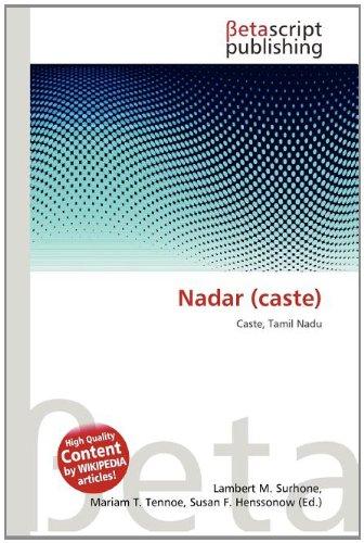 9786132980267: Nadar (Caste)