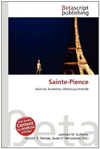 9786132981110: Sainte-Pience